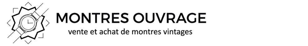 MONTRES OUVRAGE